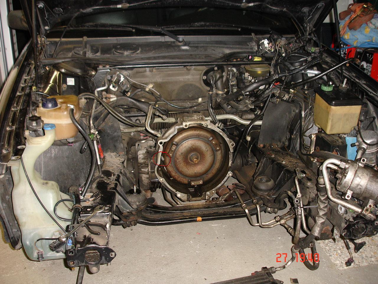 Replacing Starter 1990 Audi V8 Quattro 3 6 Audiworld Forums